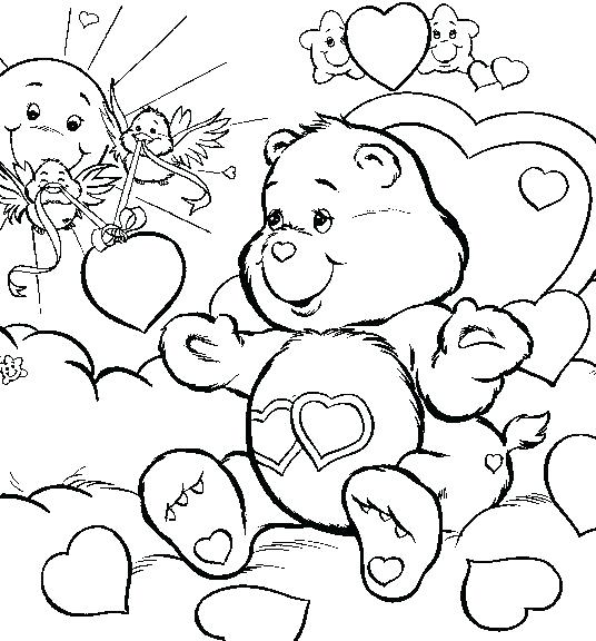 Frozen Valentine Coloring Pages At Getdrawings Com Free For