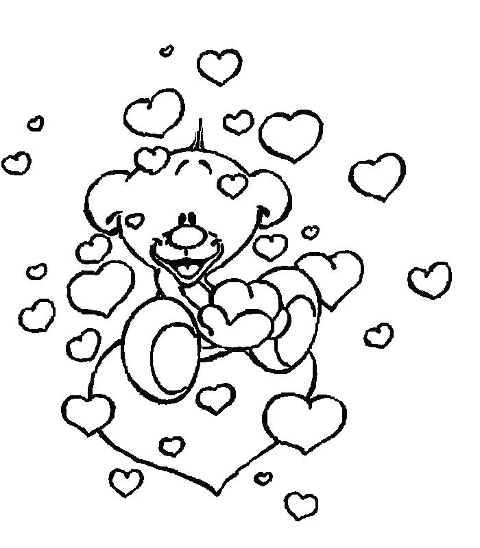 Frozen Valentine Coloring Pages at GetDrawings | Free download