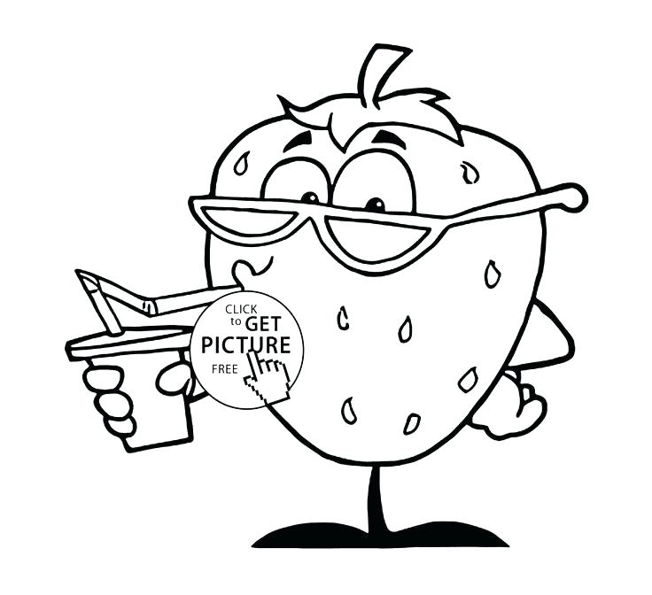 736x672 Fruit Basket Coloring Pages Fruits Coloring Pages As Well As Funny