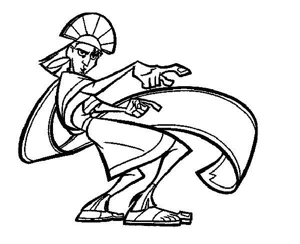 600x487 Best Emperor's New Groove Coloring Pages Images