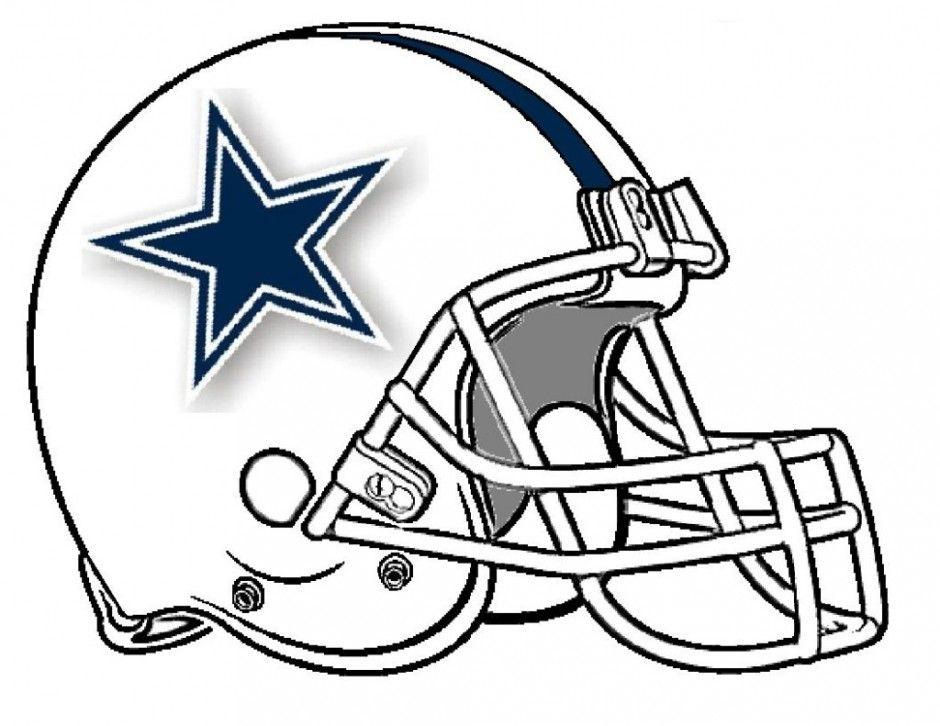 940x726 Dallas Cowboys Helmet Coloring Pages