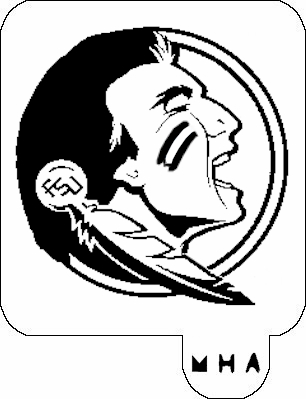 306x399 Florida State Seminoles Coloring Pages