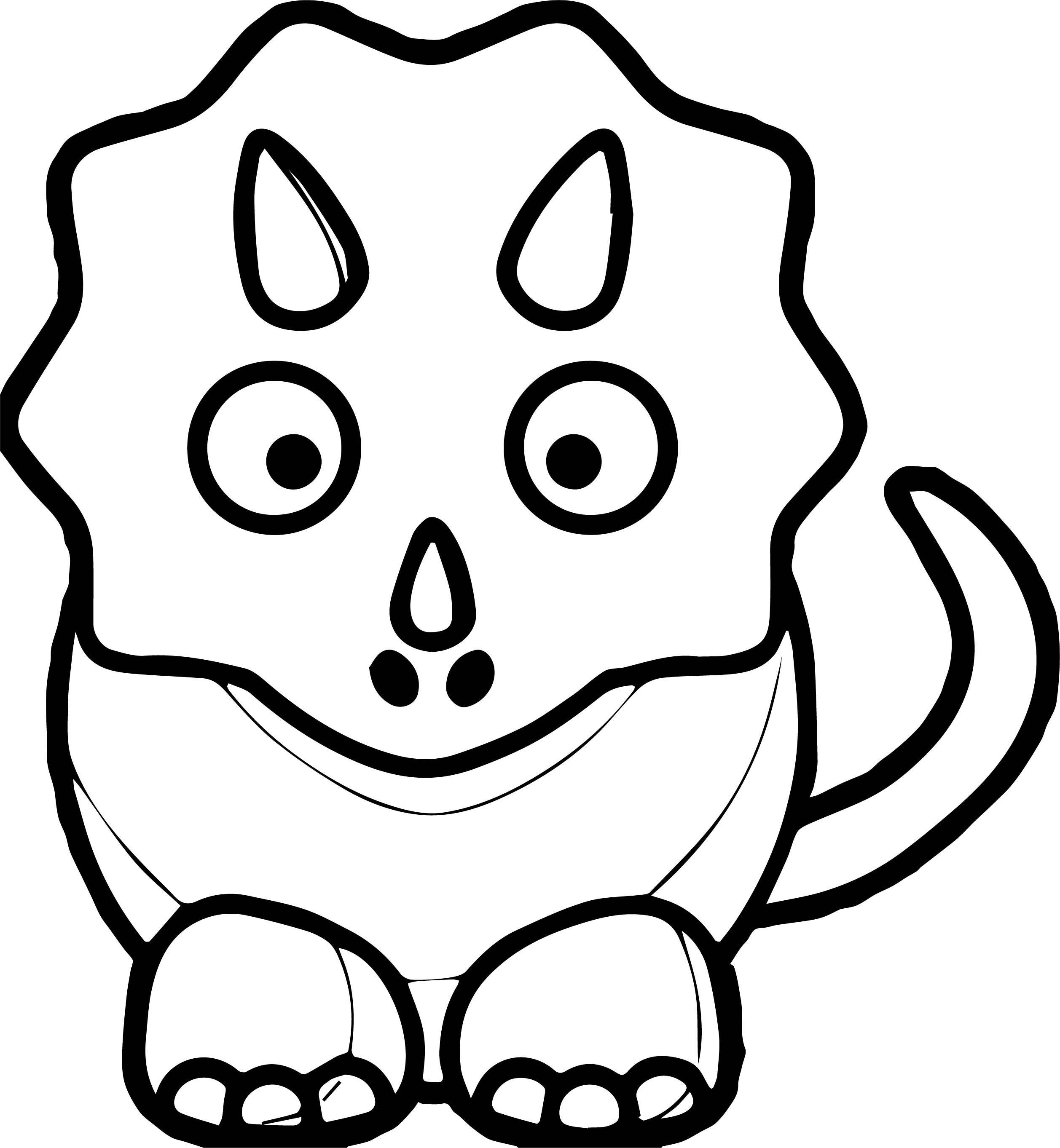 2515x2725 Best Of Black And White Dinosaur Coloring Pages Design Great