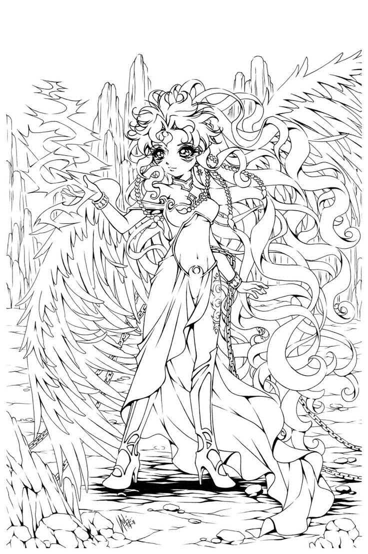 Full Body Coloring Pages