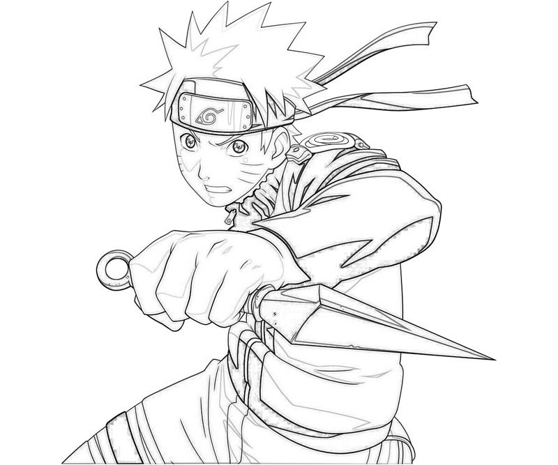 800x667 Naruto Colored Pages Coloring Pages Naruto Cute