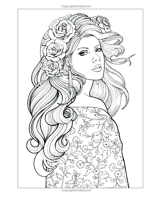 600x776 Full Coloring Pages Printable Coloring Pages For Toddlers Simple