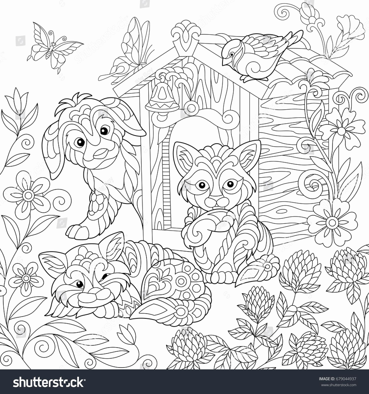 1500x1600 Full Page Printable Coloring Pages Elegant Best Od Dog Coloring