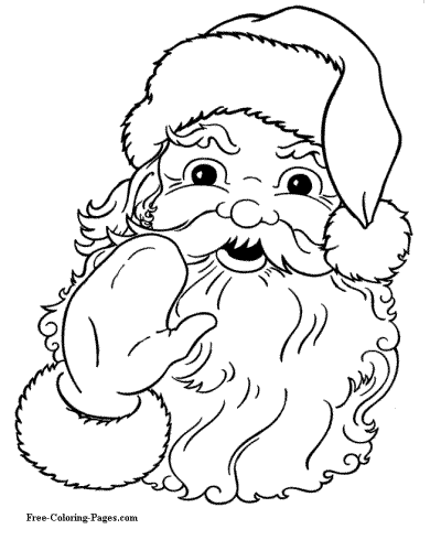 400x490 Christmas Coloring Pages