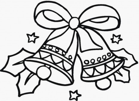 465x339 Free Christmas Printable Coloring Pages Snowman, Tree, Bells