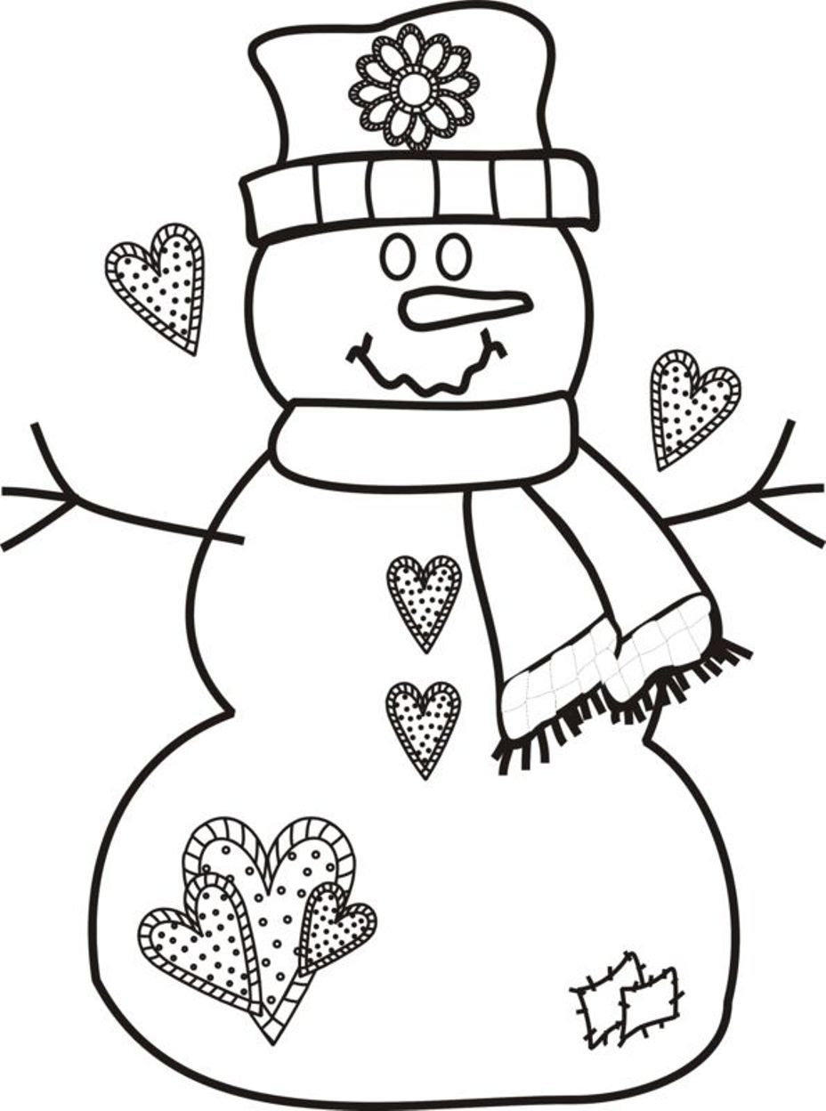 928x1248 Christmas Coloring Pages S On Snowman Merry Christmas Coloring