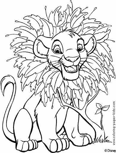 Full Page Coloring Pages Disney