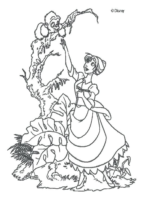 607x850 Coloring Pages Disney Coloring Page Princess Coloring Pages Free