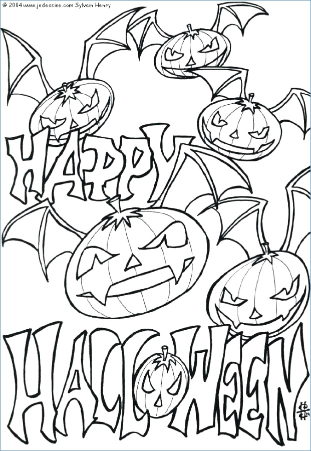 621x900 Haunted House Coloring Page Halloween Coloring Page