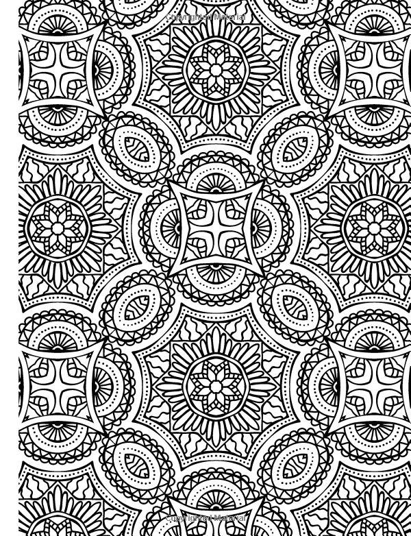 Full Page Mandala Coloring Pages At GetDrawings Free Download