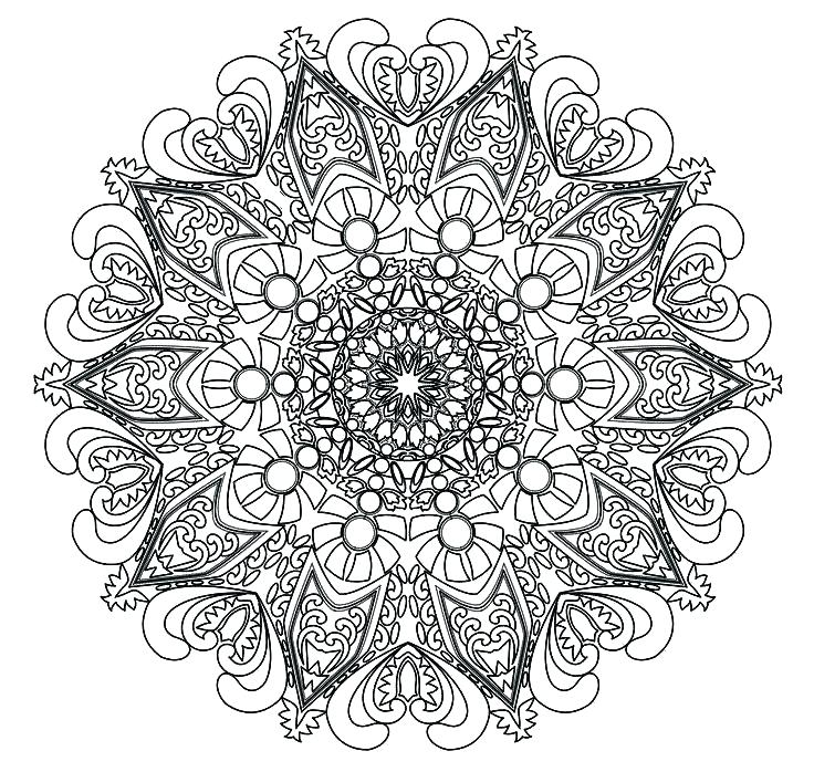 736x698 Full Page Mandala Coloring Pages Coloring Pages Mandala Designs