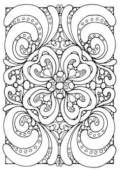 236x333 Mandala Coloring Pages