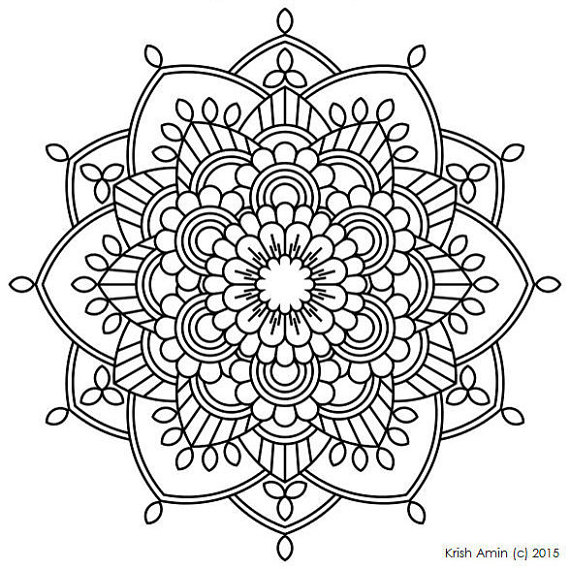 570x569 Mandala Coloring Pages Pdf At Book Online With Mandalas Remodel