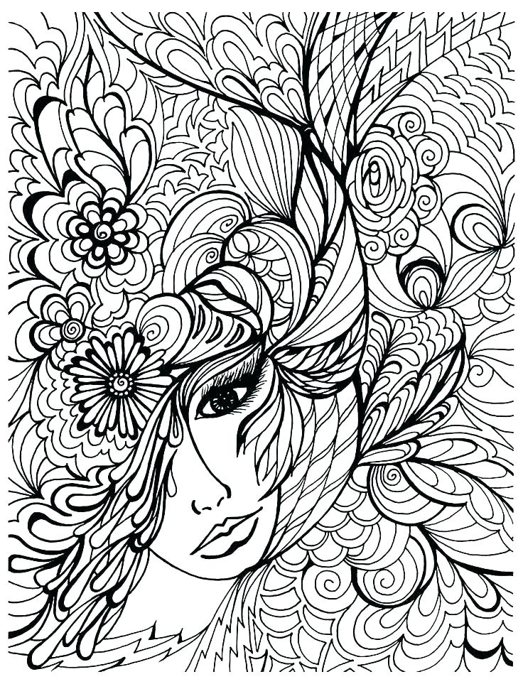 736x963 Full Page Coloring Sheets
