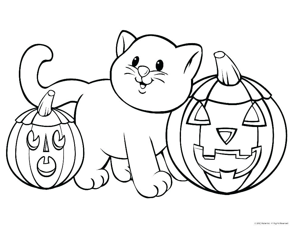 960x744 Free Printable Halloween Coloring Pages For Kids