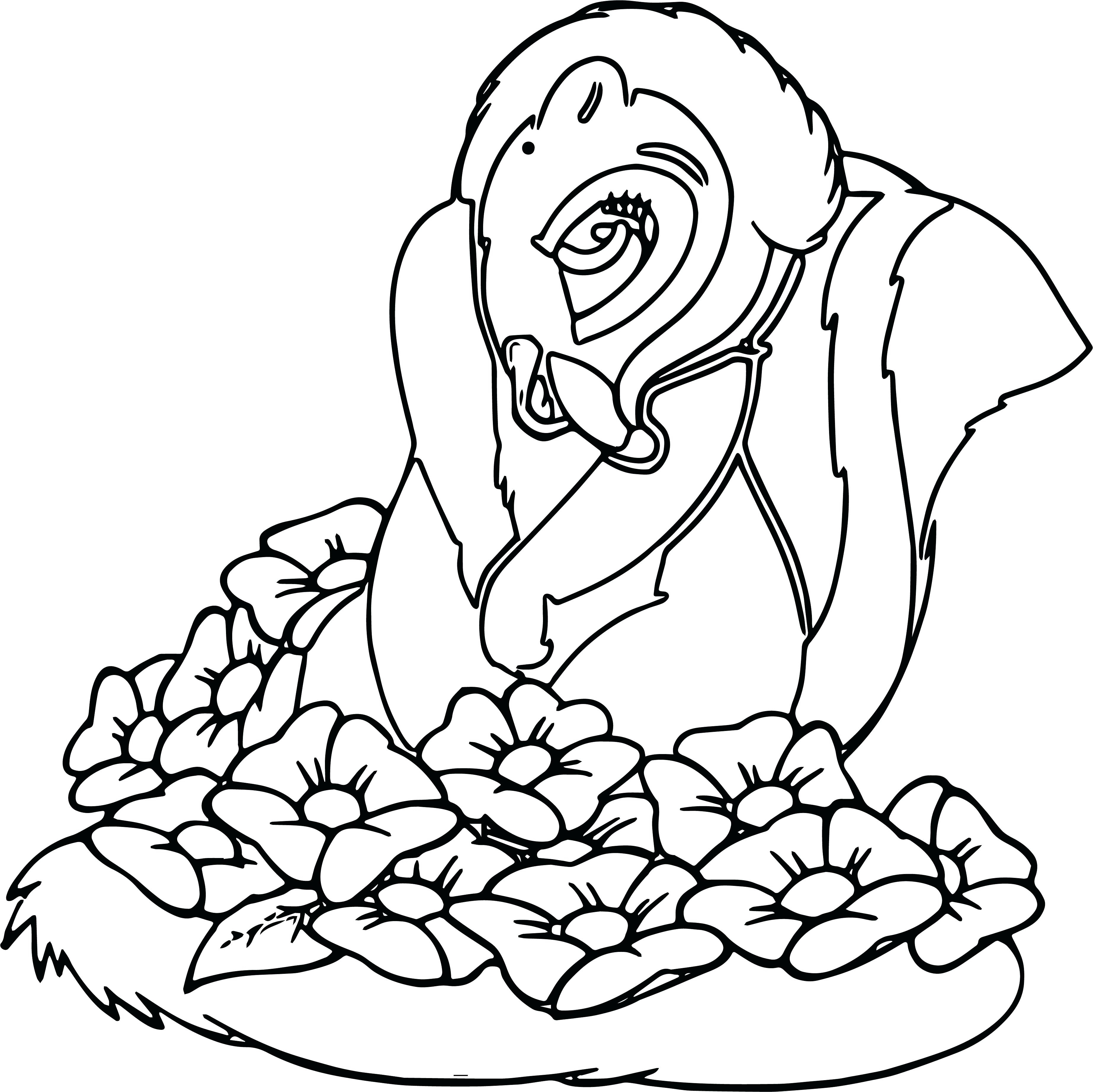 3690x3687 Full Size Coloring Pages Disney Printable For Adults Free