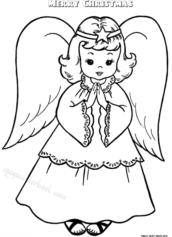 700x964 Merry Christmas Coloring Pages Full Size Printable