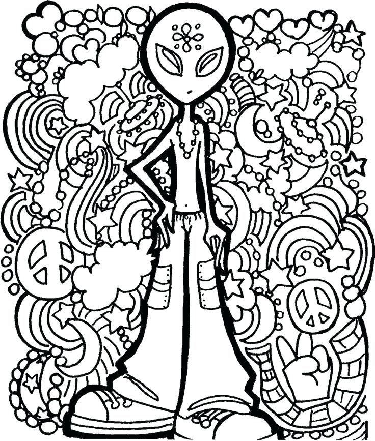 736x867 Stoner Coloring Pages Adult Coloring Pages Easy Stoner Printable