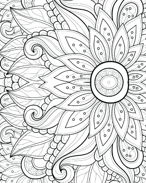 508x636 Pattern Coloring Pages For Adults Usedauto Club
