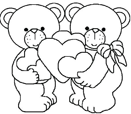456x400 Full Size Coloring Pages Print Coloring Pages Of Teddy Bears