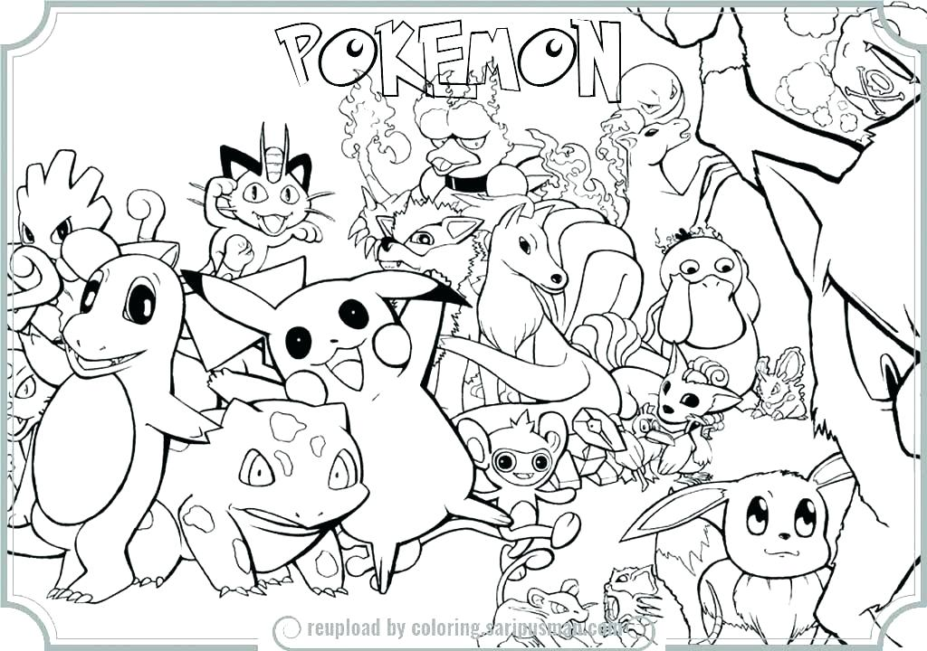 1024x720 Pokemon Coloring Pages Printable Color Pages Printable Coloring