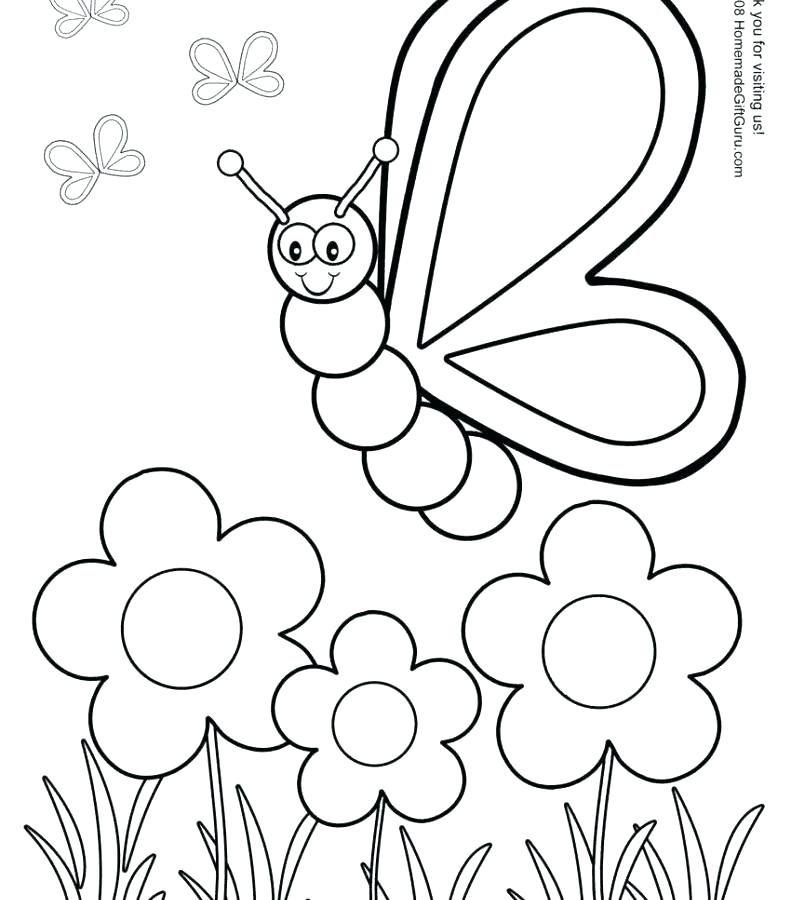 791x900 Printable Coloring Pages For Preschool