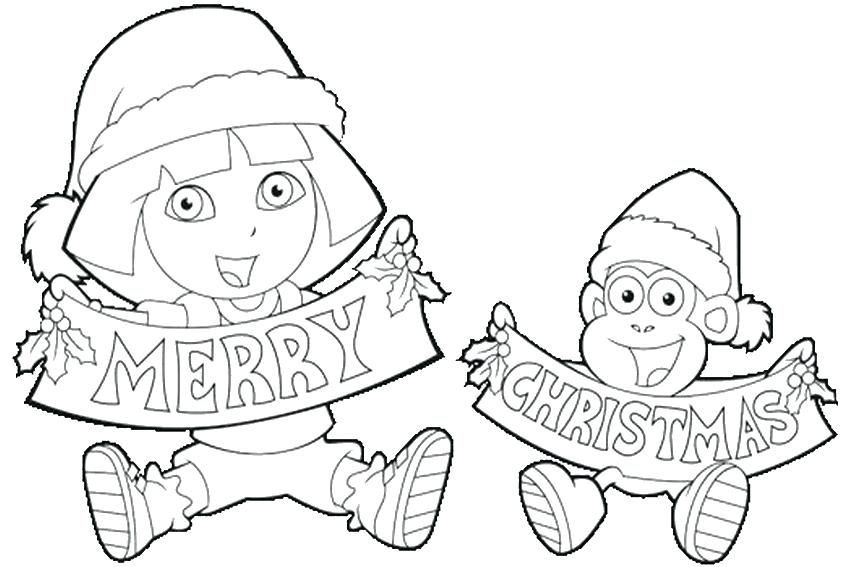 850x567 Family Fun Christmas Coloring Pages Boot For Fuhrer Von