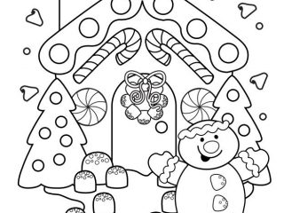 320x240 Free Fun Coloring Pages Free Fun Christmas Coloring Pages Funny