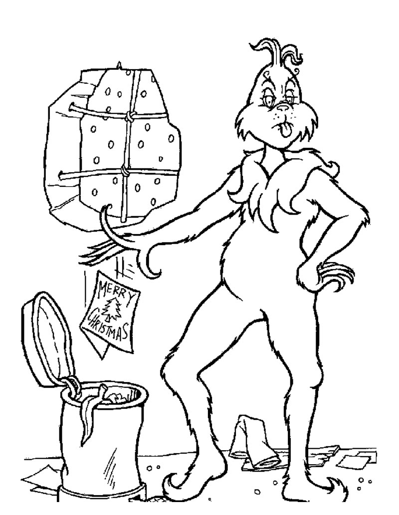800x1034 Fun Christmas Coloring Pages