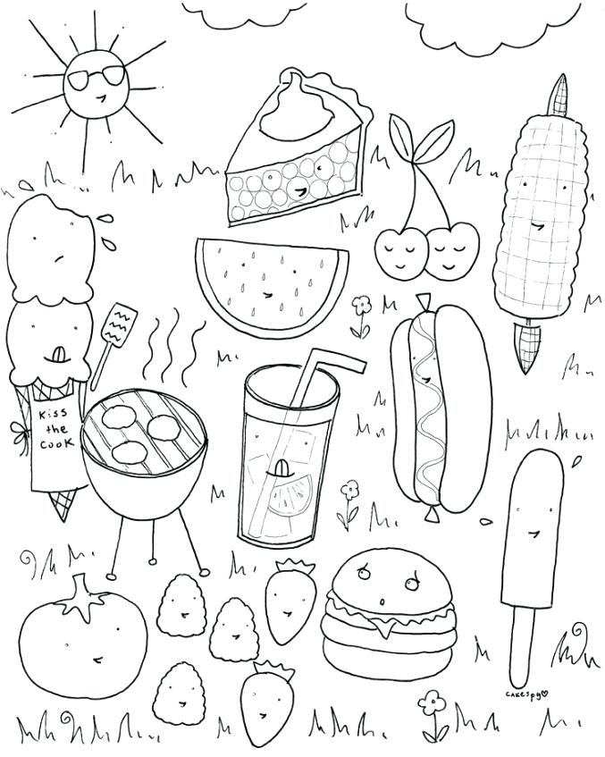 677x847 Fun Coloring Pictures Food Coloring Pages Coloring Pictures
