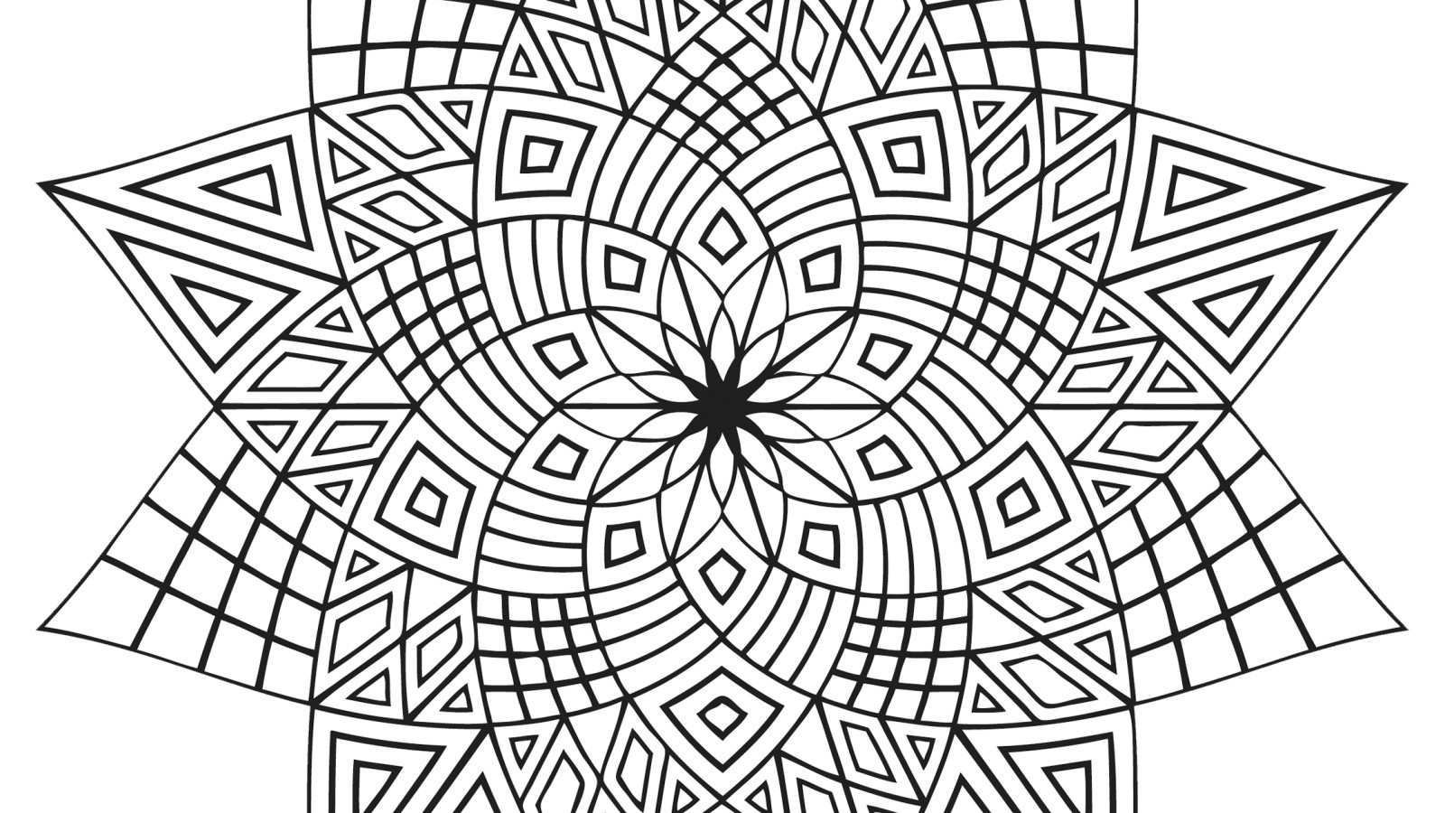 1600x900 Nice Design Ideas Fun Coloring Pages For Adults To Print All Ages