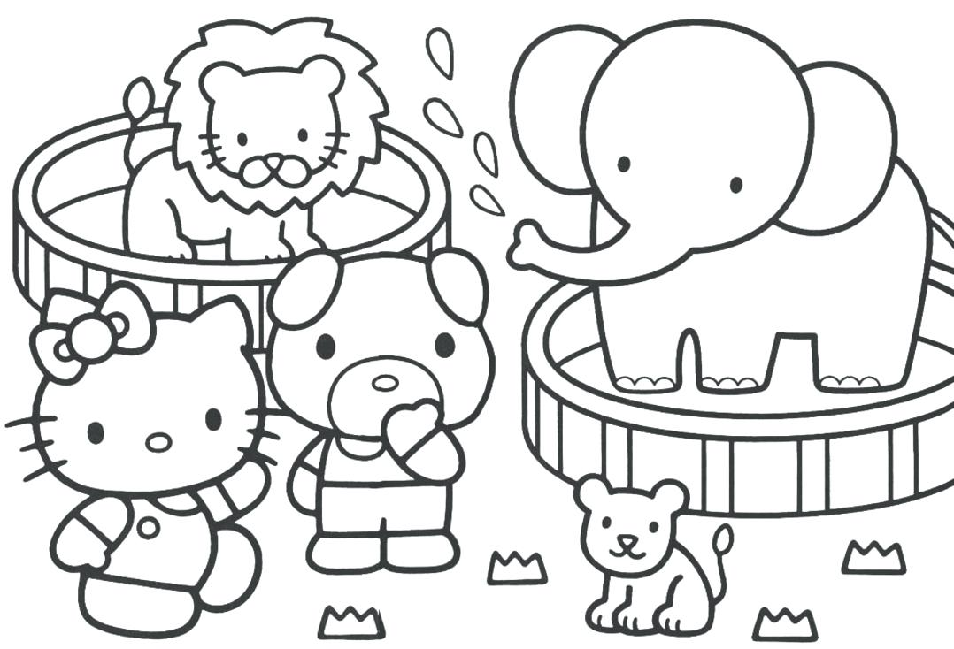 1078x734 Printable Coloring Pages For Graders Best Summer Fun Pictures