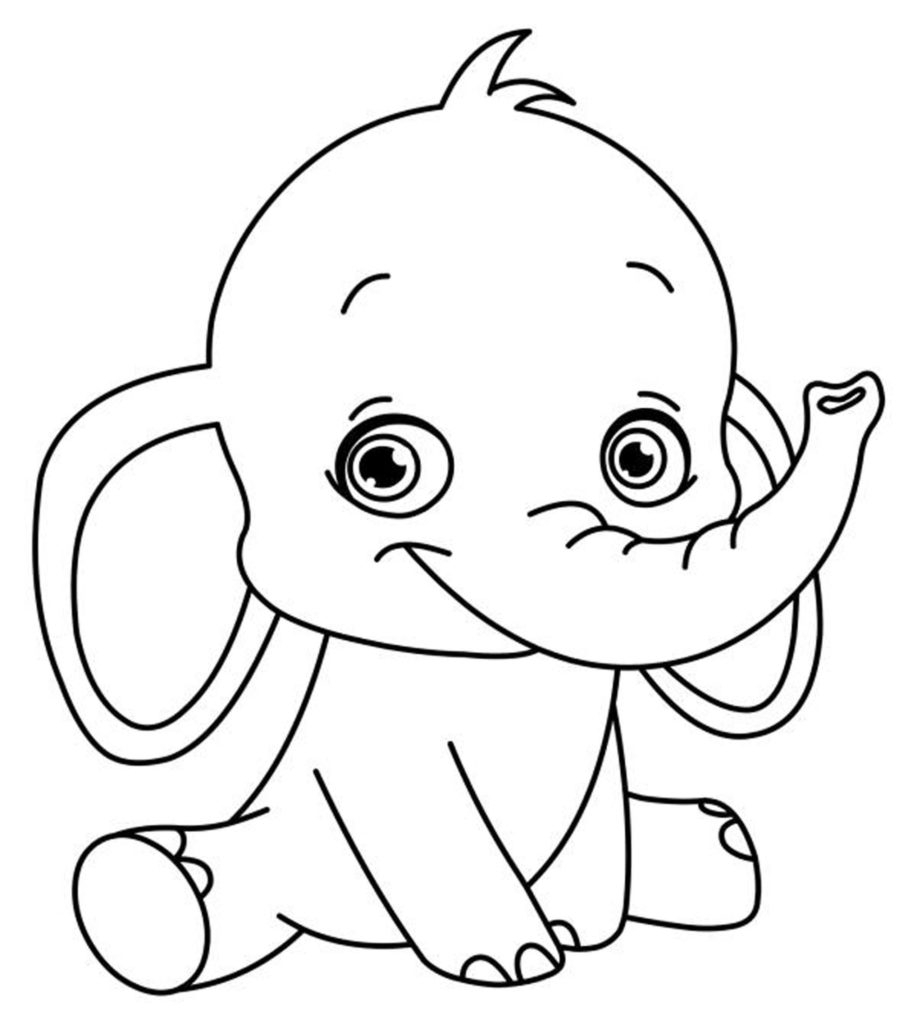 917x1024 Easy Coloring Pages For Girls Easy Coloring Pages For Girls Easy