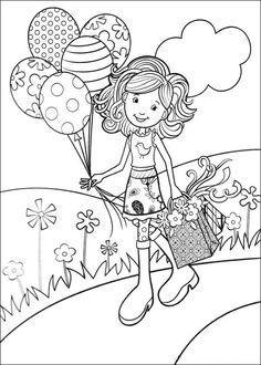 236x330 Groovy Girls Kids N Fun Coloring Page Kleurplaat