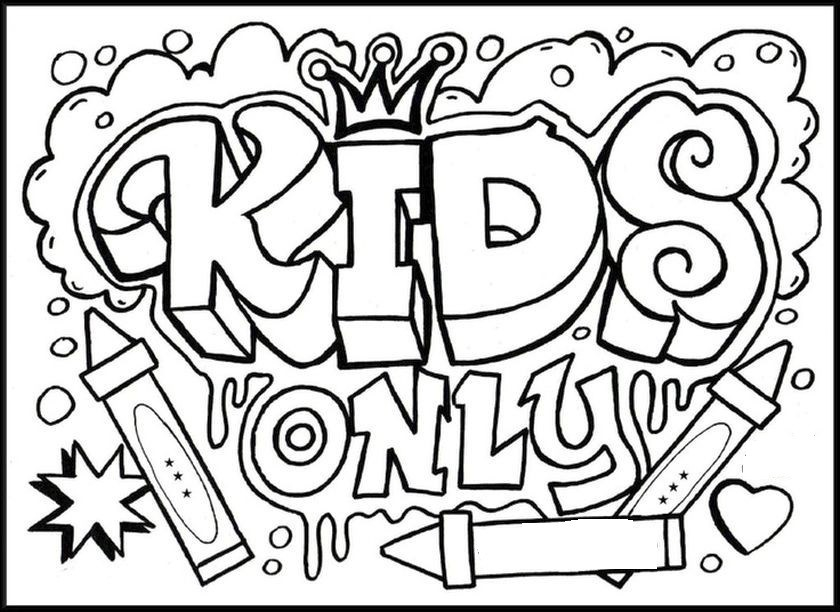 840x612 Kids Coloring Fun Fun Coloring Pages For Older Kids Widescreen