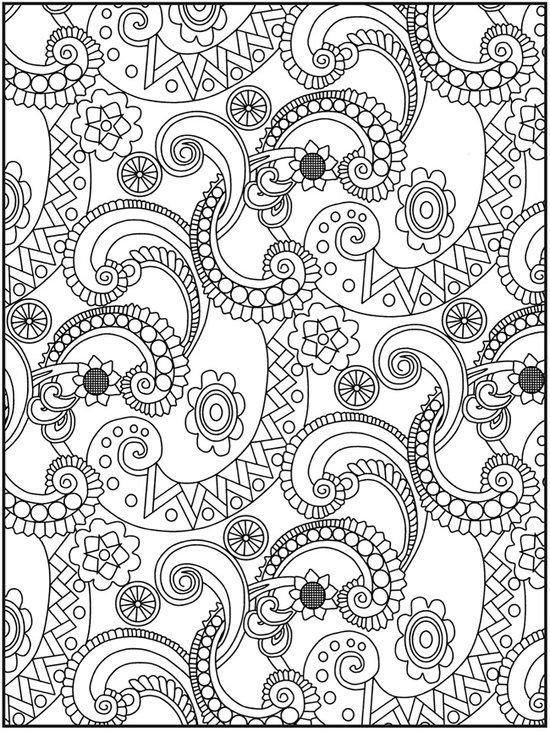 550x731 Detailed Coloring Pages For Older Kids