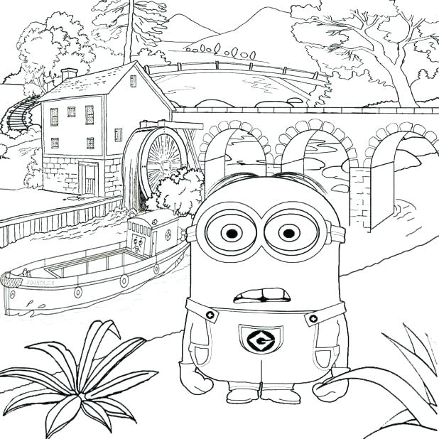 618x618 Fun Coloring Pages For Older Kids