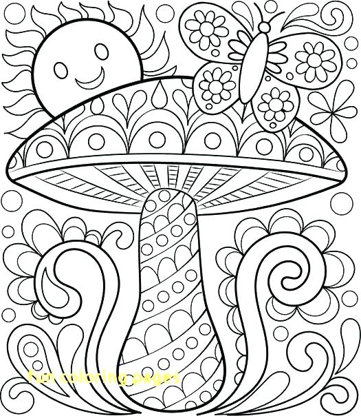 525x604 Free Printable Coloring Pages For Older Kids Best Cheap G Of Fun