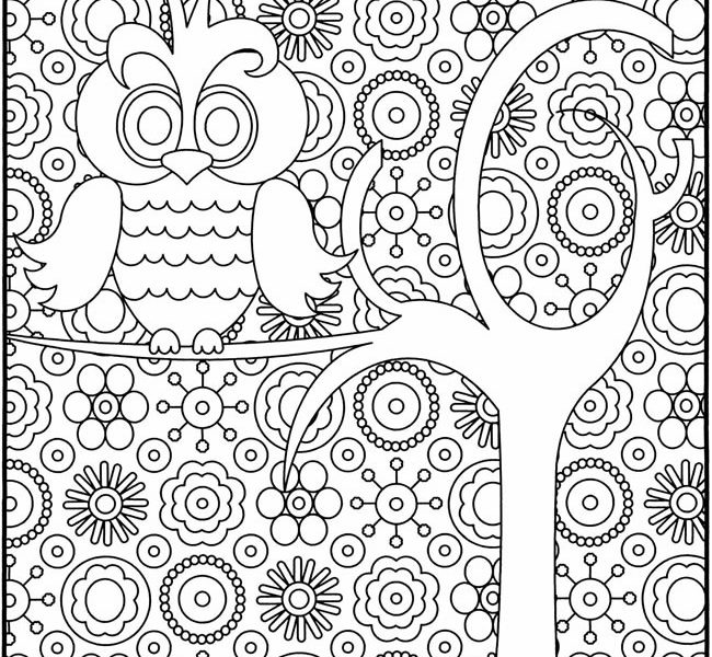 650x600 Printable Coloring Sheets Older Kids Fun Coloring Pages