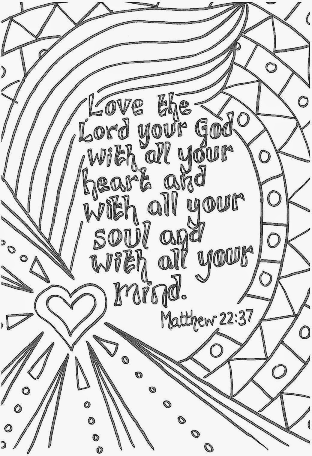 1040x1520 Christmas Coloring Pages Older Kids