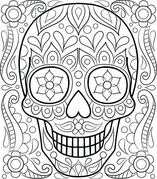 550x627 Fun Coloring Page
