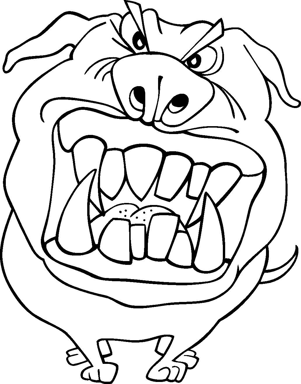1032x1315 Free Printable Funny Coloring Pages For Kids