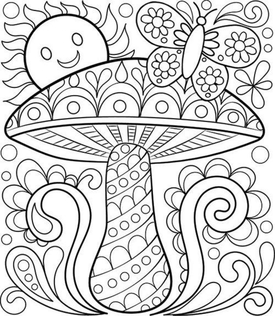890x1024 Value Blank Coloring Pages For Kids Printable
