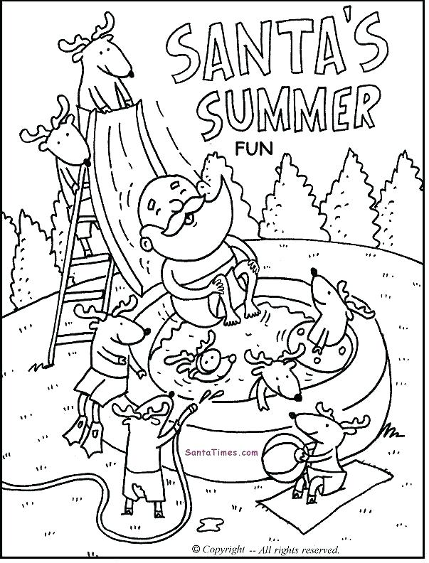 603x792 Coloring Pages Fun Summer Fun Printable Coloring Page More Fun