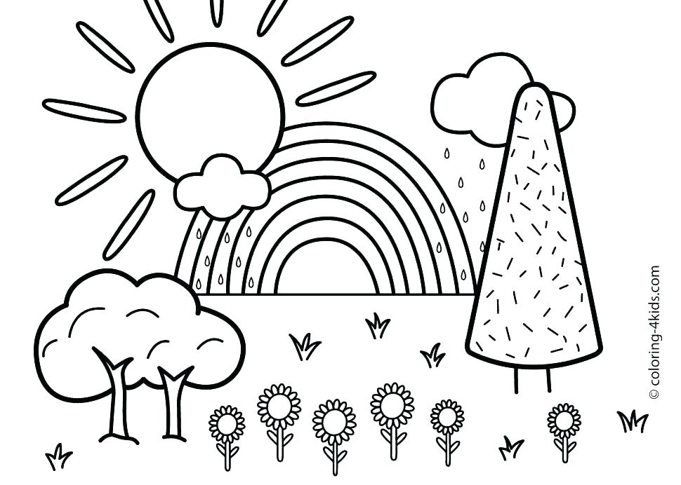 970x692 Coloring Summer Pages Kids Coloring Pages Summer Fun Coloring