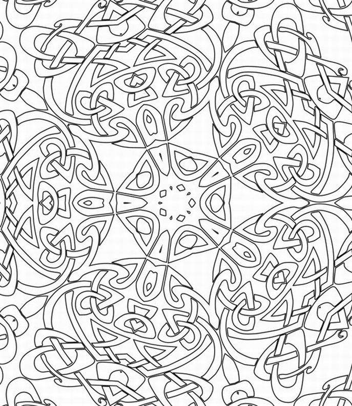Fun Design Coloring Pages